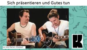 """Klangraum Miesbach Zeitungsartikel """"Sich präsentieren und Gutes dabei tun"""""""